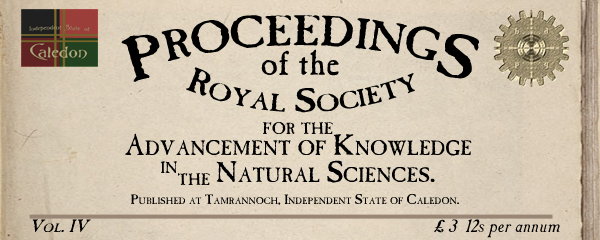 Proceedings of the Royal Society