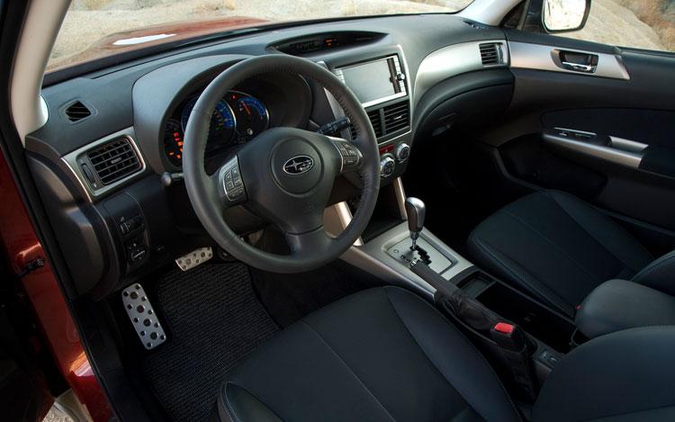 Subaru Forester 2011 Black