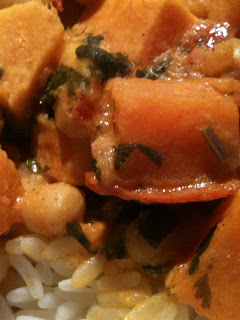 Indian Sweet Potato (Butternut Squash) Curry
