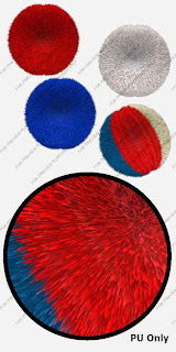 free pompom images preview Free 4th July Pompoms PNG Images