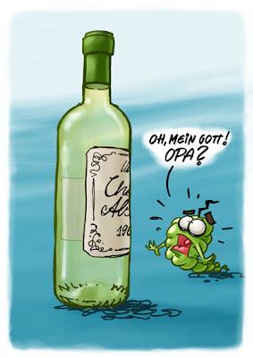 Wein Weißwein Weintrauben Oh mein Gott Opa Großvater Tod gestorben Überraschung Cartoon Cartoons Witze witzig witzige lustige Bildwitze Bilderwitze Comic Zeichnungen lustig Karikatur Karikaturen Illustrationen Michael Mantel lachhaft Spaß Humor