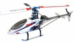 trex 450se rc helicopter image