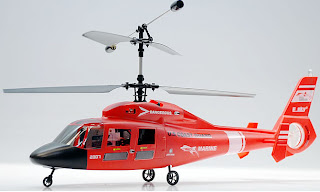 ESKY RED US COAST MARINE DAUPIN RC HELICOPTER IMAGES