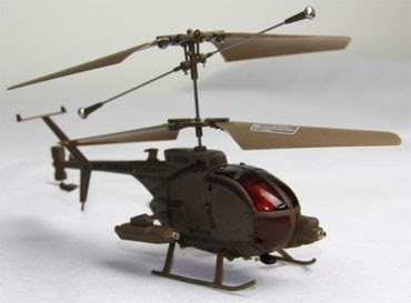 Infrared Mini Helicopter With Flashing Light View