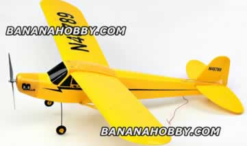 piper cub j3 rc planes