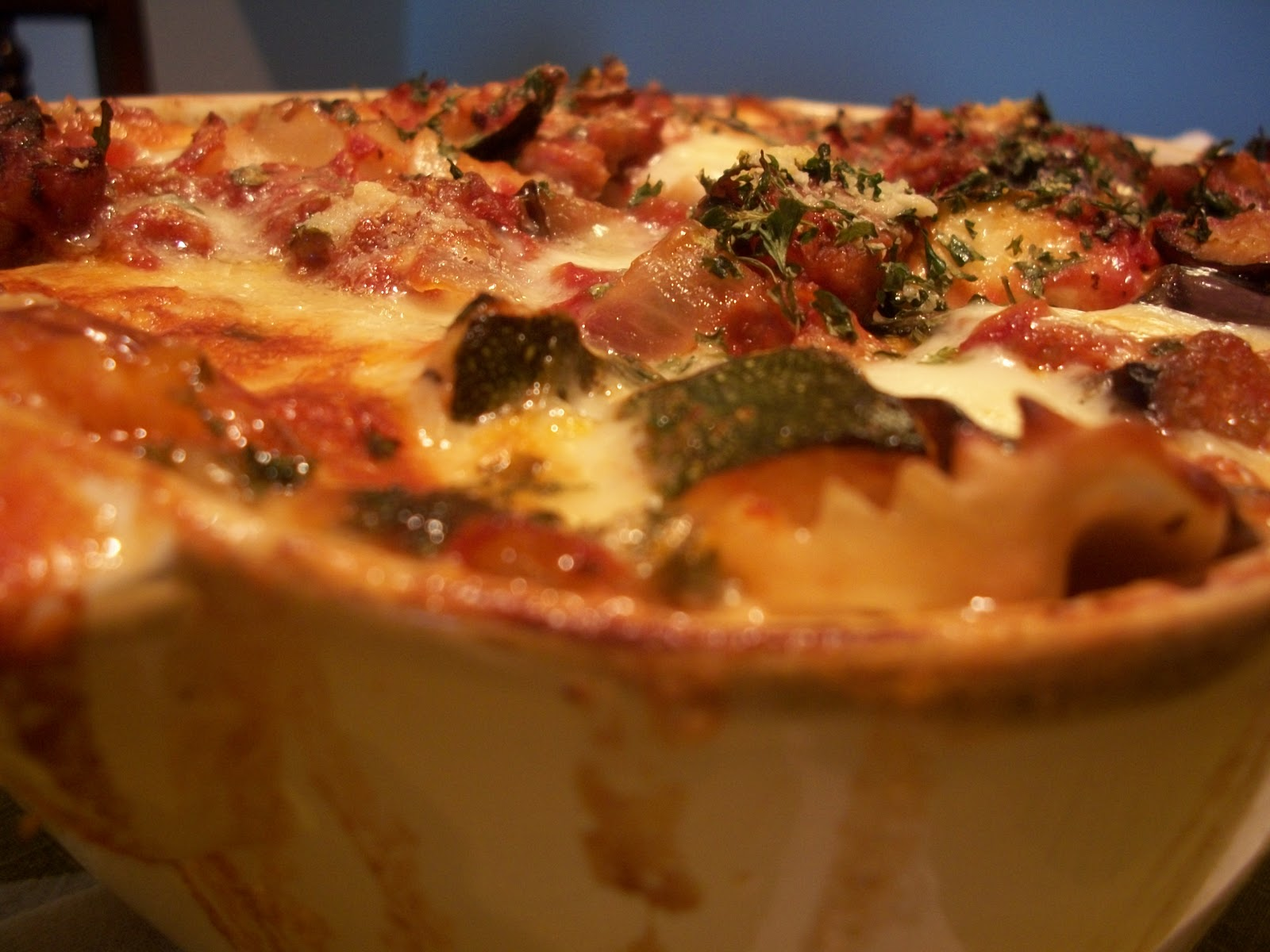 dishmaps bow tie eggplant pasta recipes dishmaps pasta pasta and ...