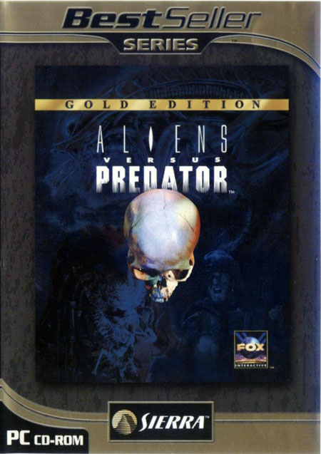 aliens vs predator. Alien Vs Predator ( Gold