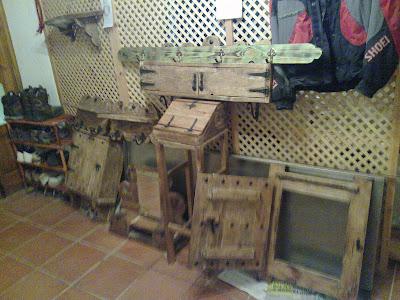 Muebles de antes muebles rusticos para casas de campo y - Muebles rusticos de campo ...