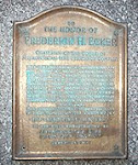1947 Stuy Town Plaque Honoring Met Life Chairman F.H. Ecker (Removed in 2002 and never seen again)