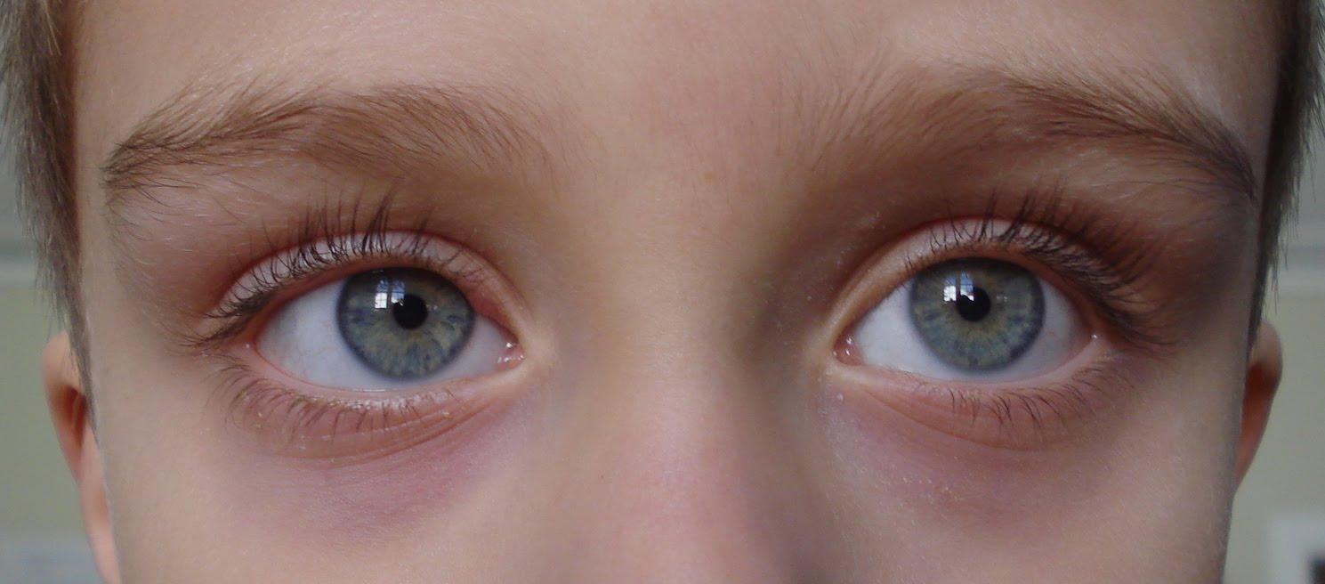 children eyes: