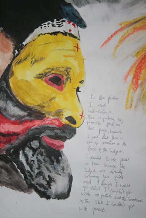 art gcse coursework 2010