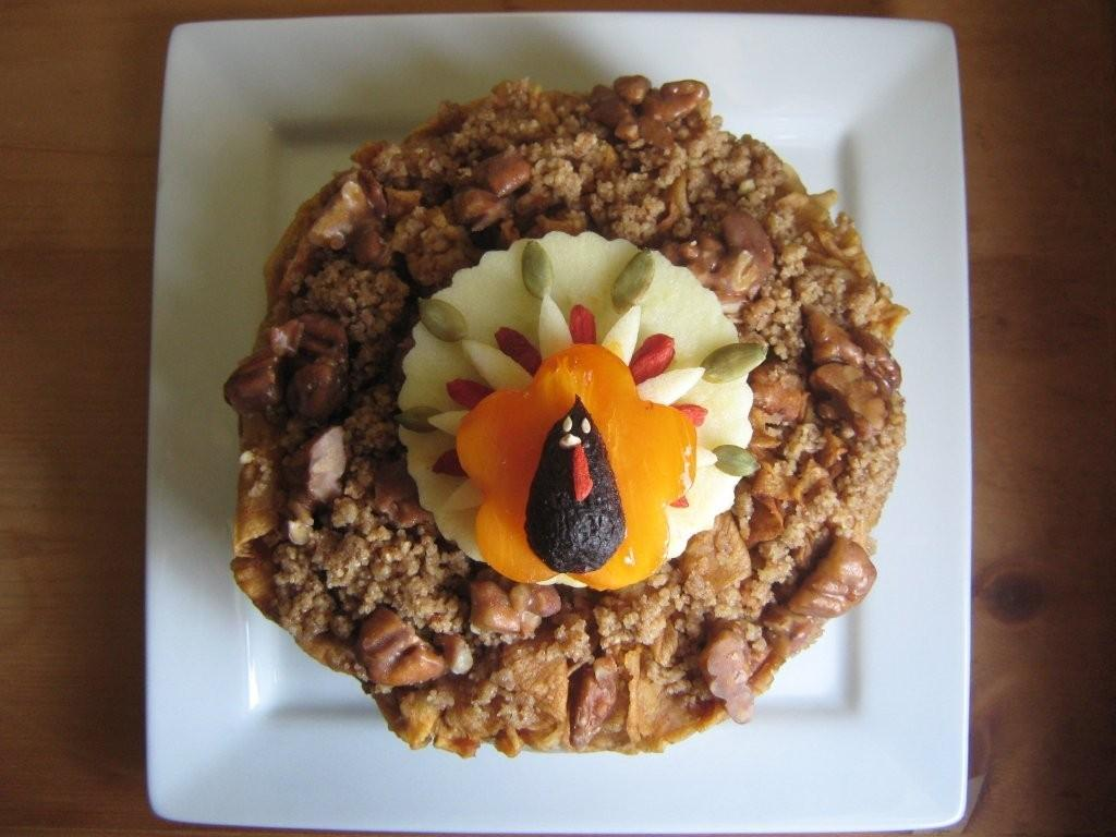 Raw turkey cake recipe