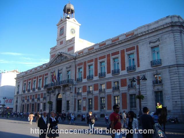 Real Casa De Correos Sede De La Comunidad De Madrid Real