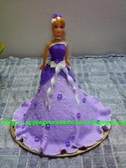 Barbie fondant