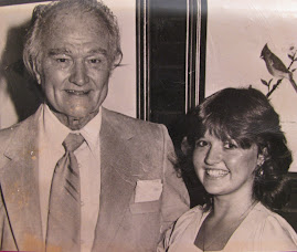 Photo shows famed comedian Red Skelton with me during my college days