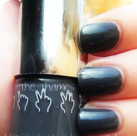 Nails Inc. - The Thames / Winter Nail Trends 09.