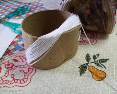 linha de croche