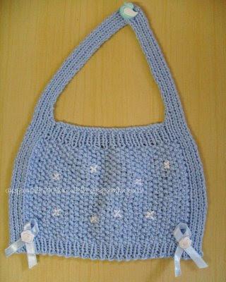babeiro de tricot