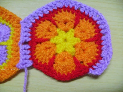 crocheting african flower