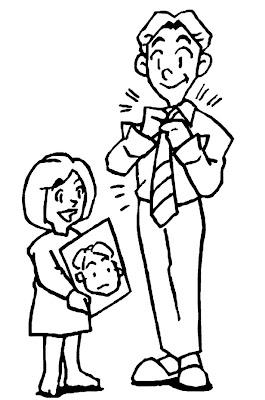 colorir dia dos pais