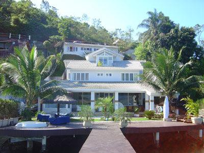 casas de luxo na praia
