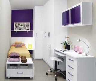 quartos pequenos de solteiro