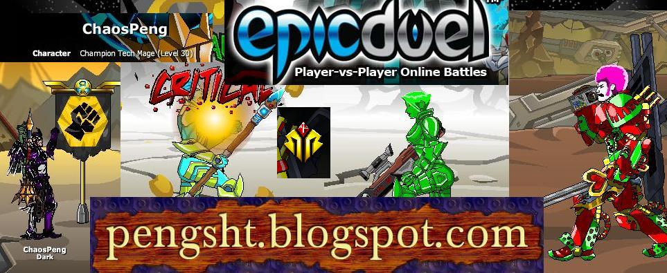Epic Duel Blog!