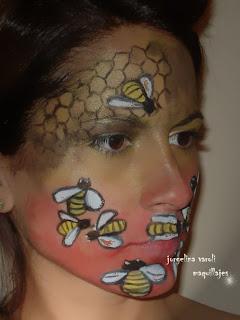 maquillaje disfraz abeja para carnaval Yahoo Respuestas