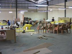 Workshop Kegiatan Pembuatan Meubel Sofa