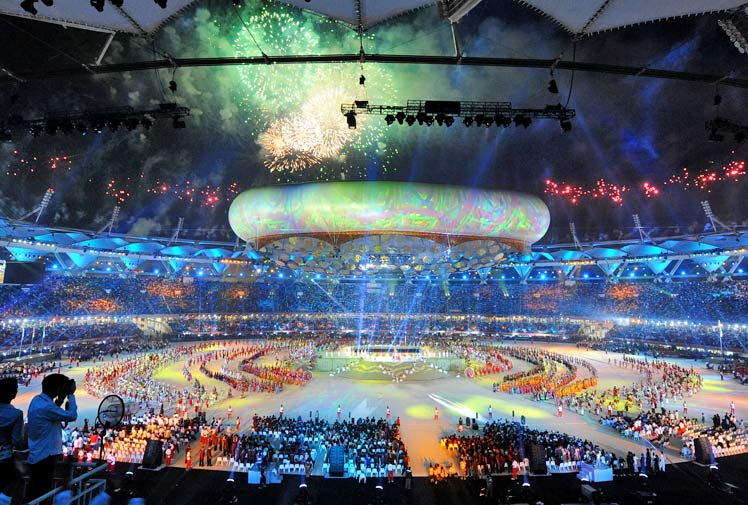 commonwealth games 2010. Commonwealth Games Opening