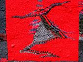detalle de obra textil