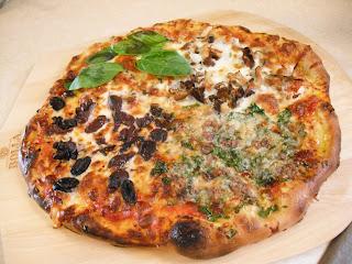 la buona cucina pizza quattro stagioni four seasons pizza. Black Bedroom Furniture Sets. Home Design Ideas