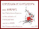 Certificado de cumplimiento reto N° 3