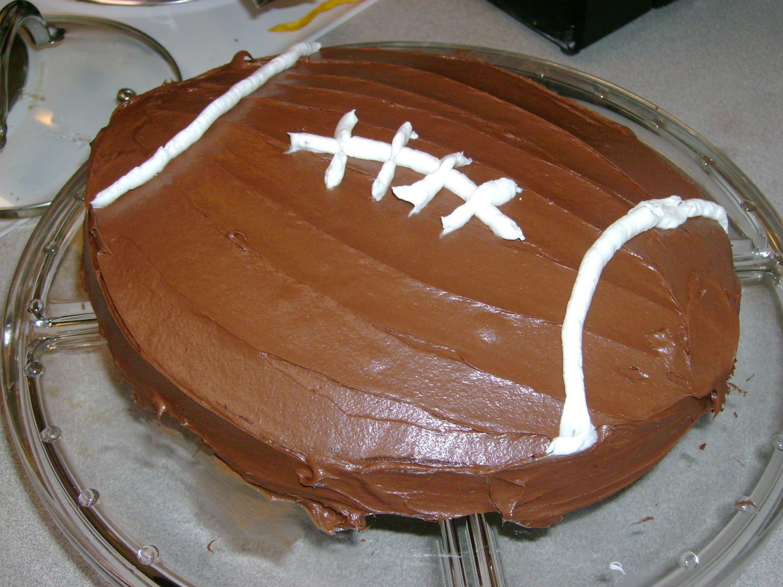 Football Cake Pictures Uk : The Muslim Wife s Kitchen: Super(bowl) Food