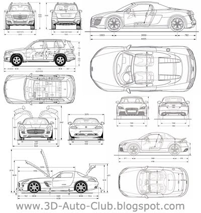 Blueprints of Cars (2010 - 2011)