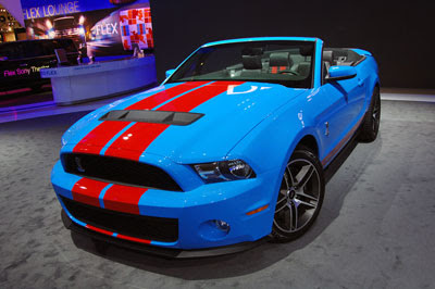 Pictures - Detroit 2009: 2010 Shelby GT500 Live