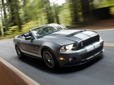 Wallpapers - Ford Shelby Mustang GT500 Convertible (2010)