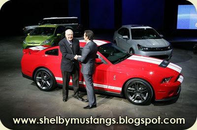 Detroit 2009: 2010 Shelby GT500 Preview