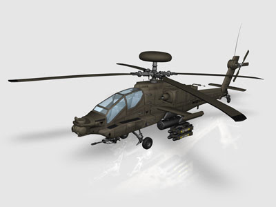 3D Models - CRAFT ANIMATIONS AH-64 APACHE