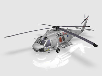 3D Models - CRAFT ANIMATIONS RIGGED UH60F SEAHAWK