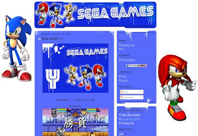 Web-Design - Sega Games