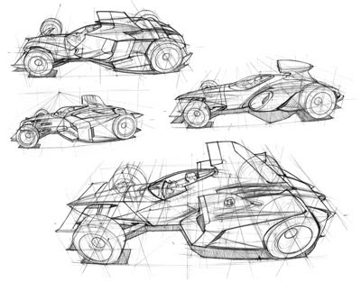 How to Draw Cars - The Techniques of Scott Robertson