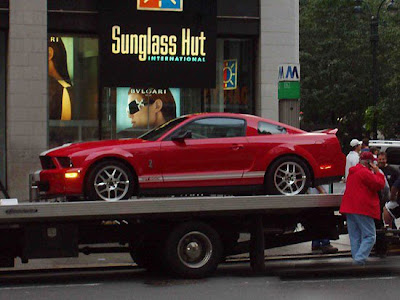"Shelby Mustang GT500, Expedition and Escape Hybrid co-star in ""I Am Legend."""