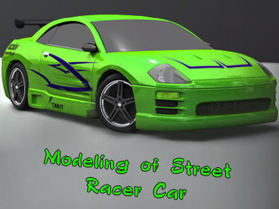 Modeling of Street Racer Car