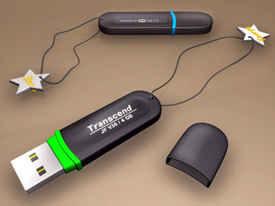 USB Flash Drive - Transcend 4 GB