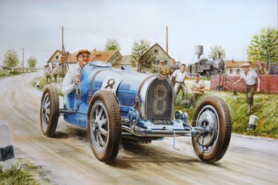 Old Cars in Fine Art