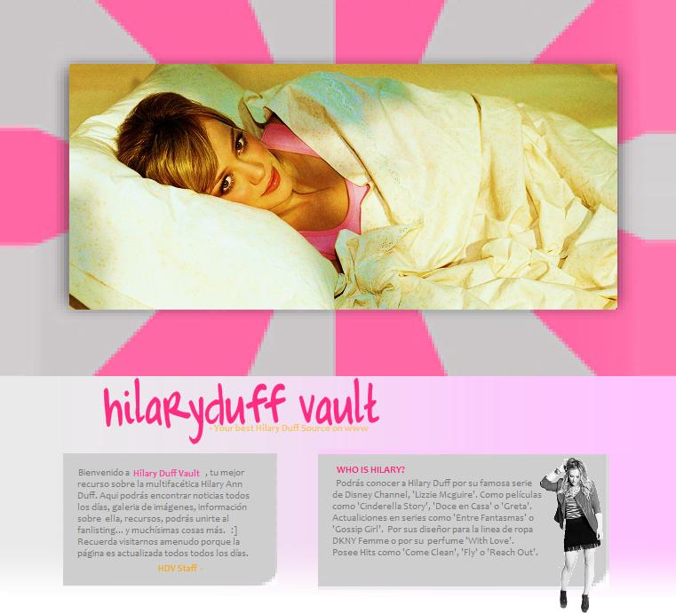 Hilary Duff Vault