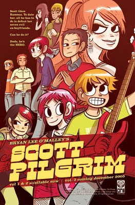 Scott Pilgrim, Bryan Lee O'Malley, comics cast