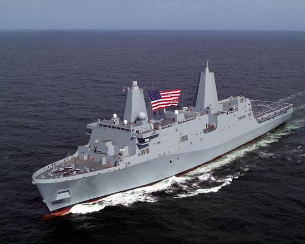 USS San Antonio Savaş Gemisi