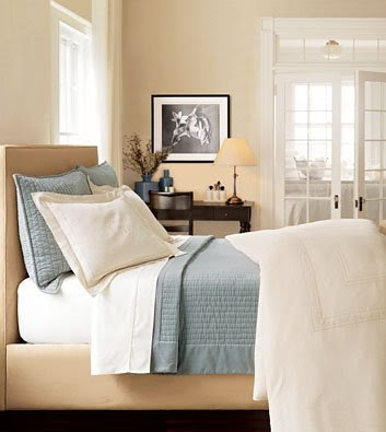 another great looking bedroom blues beige and cream classic
